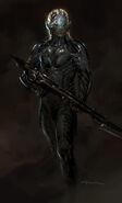 Dark Elves Concept Art IX