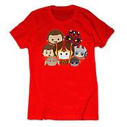 Phantom Menace Tsum Tsum T Shirt Female