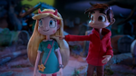 Star and Marco in stop-motion