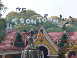 Toontown-sign