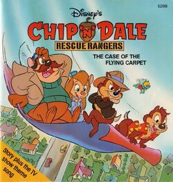 Rescue Rangers The Case of the Flying Carpet Disney Read Along