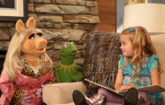 Kermit piggy and charlie