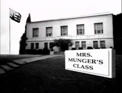 Disney's One Saturday Morning - Mrs. Munger's Class - Title Logo