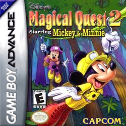 Magical Quest 2 GBA Cover