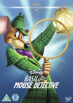 The Great Mouse Detective UK DVD 2014 Limited Edition slip cover