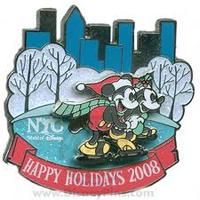 NYC Holidays Pin