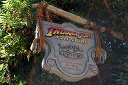 Indiana Jones Adventure Temple of the Forbidden Eye