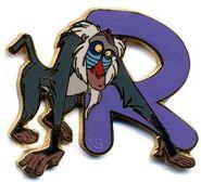 Japan Disney Mall - Disney Character Alphabet Framed Set (R - Rafiki)