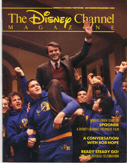 Spooner Disney Channel Magazine