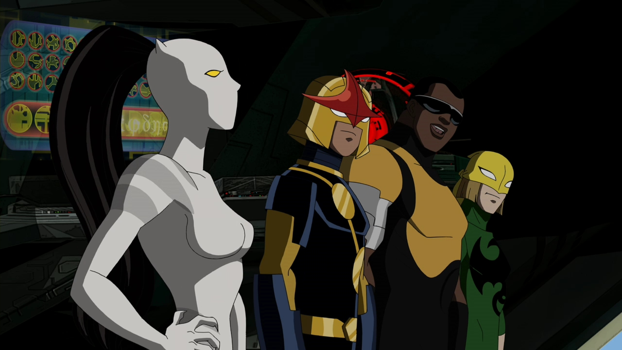 Image - White Tiger arrow.png   Ultimate Spider-Man Animated Series Wiki   FANDOM powered by Wikia