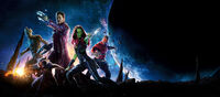 Guardians of the Galaxy - Banner