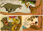 Jungle book disney comic