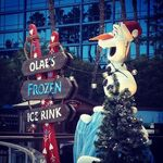 Olaf's frozen ice rink