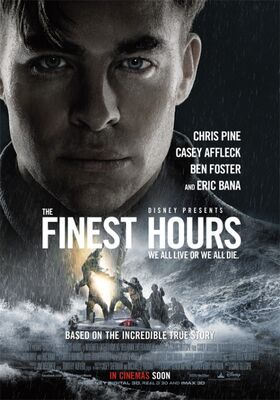 The Finest Hours UK Poster