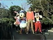 Michael jackson with disney characters
