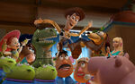 Woody and the Gang Toy Story 3