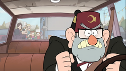 Gravity Falls stan angry