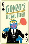 Disney pin playing cards gonzo