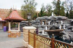 Snow White's Grotto at Hong Kong Disneyland