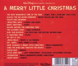 A merry little christmas back cover