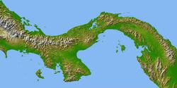 Mapa-fisico-de-Panama