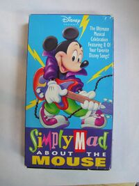 Simply mad about the mouse vhs