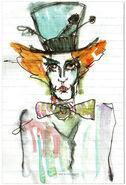 Tarrant Tim Burton Art 2