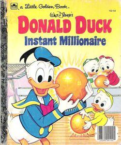 Donald duck instant millionaire