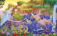 Peter-Pan-Wendy-Mermaids-1440x900-Wallpaper-ToonsWallpapers.com-