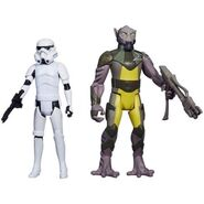 Zeb and stormtrooper