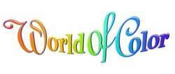 World of Color logo