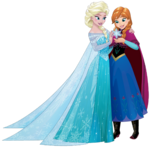 Elsa and Anna Sisters 3