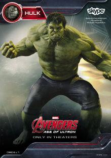 Hulk AOU Skype Card
