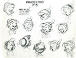 Pinocchio model sheet 2