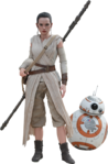 Rey and BB8 Figure