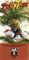Duck Tales - Print Ad from 1988 Disneyland Guide
