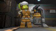 Lego Hera and Chopper
