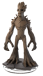 Groot DI2.0 Transparent Figurine