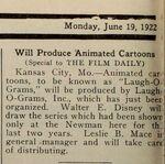 WD KC Laugh-O-Gram ad 1922