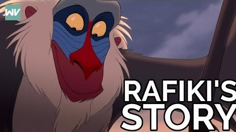 Rafiki's FULL Story Discovering Disney's The Lion King
