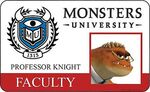 Knights ID card