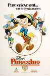 Pinocchio 1984 Re-Release Poster