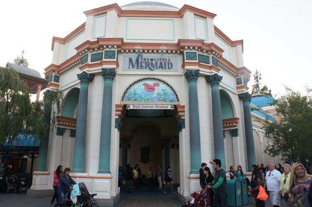 File:The Little Mermaid - Ariels Undersea Adventure building (wide).jpg