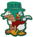 Donald Fantasia list pin