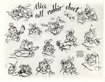 Model sheet 350-8002 ruff rabbit sheet blog