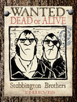 Stabbington Brothers Poster