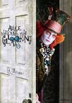 Alice Through the Looking Glass - Hatter Behind Door
