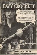 Davy Crockett NBC Print Ad