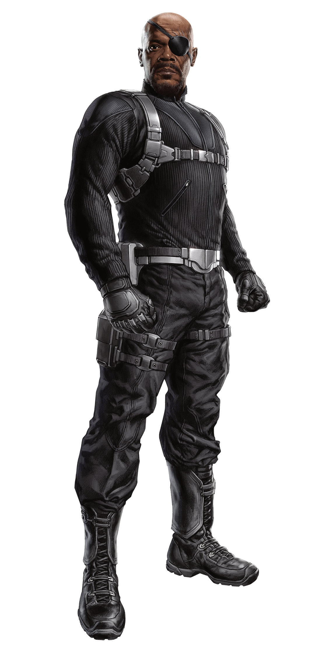 Free Nick Fury From Avengers Coloring Pages: Image - NickFury2-Avengers.png