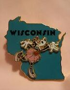 Wisconsin Pin